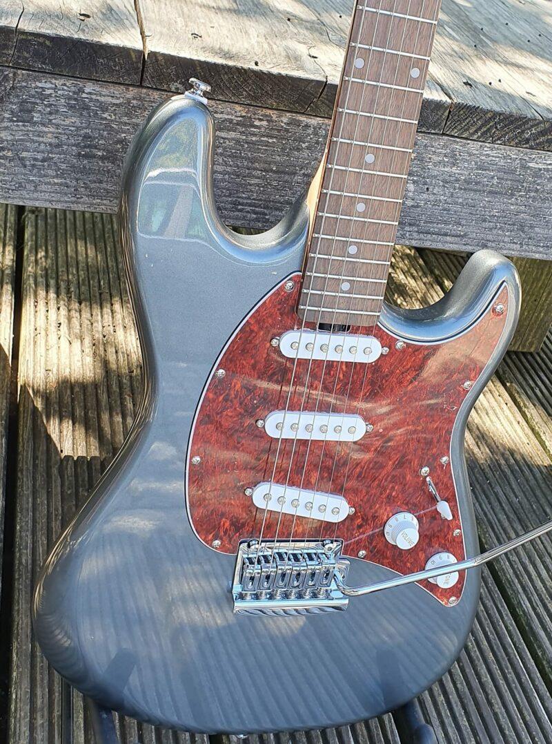 STERLING E-Gitarre, S.U.B., Cutlass SSS, Charcoal Frost