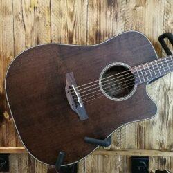 Takamine Pro1 DC SM Dreadnought Guitar + Case