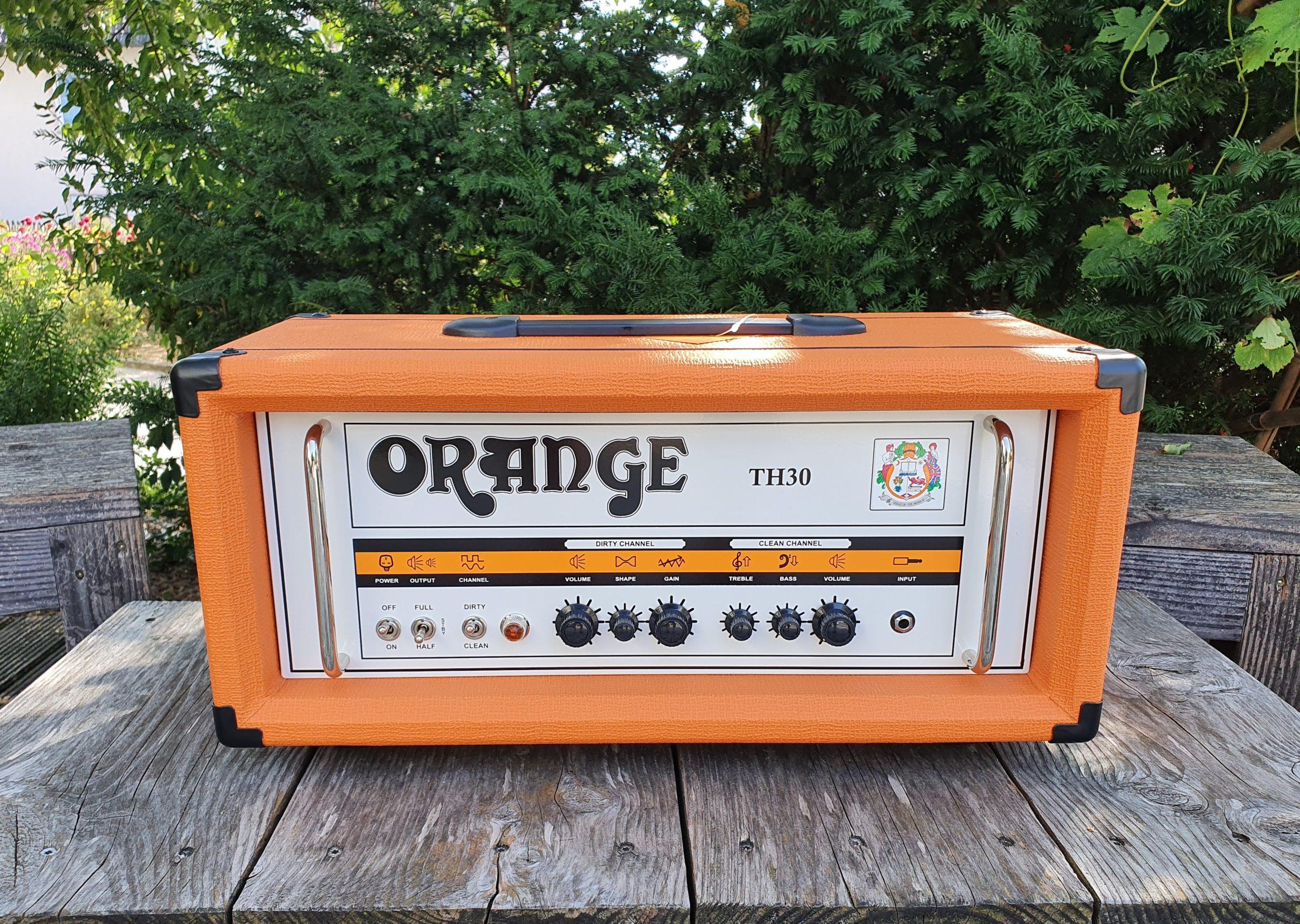 Orange TH30H Head 1