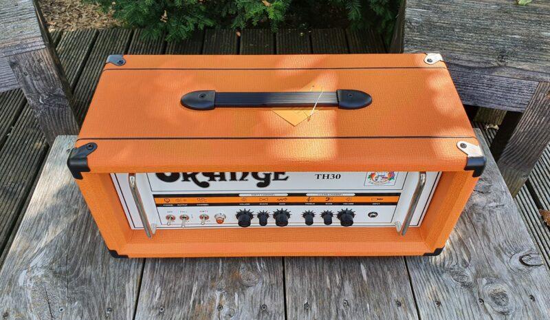 Orange TH30H Head 3