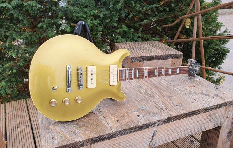 Hamer USA Carved Goldtop P 90 Bj 1