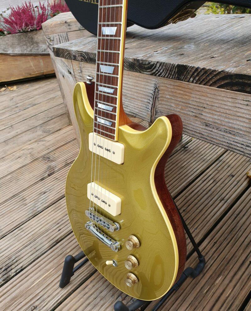 Hamer USA Carved Goldtop P 90 Bj 15