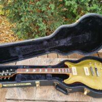 Hamer USA Carved Goldtop P 90 Bj 16