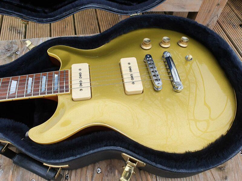 Hamer USA Carved Goldtop P 90 Bj 2