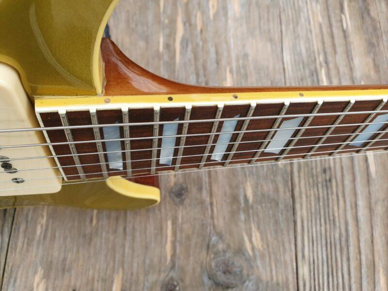 Hamer USA Carved Goldtop P 90 Bj 4