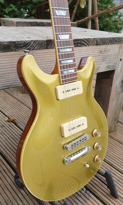 Hamer USA Carved Goldtop P 90 Bj 8
