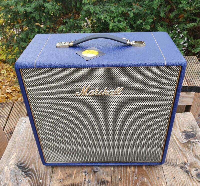 MARSHALL E Gitarrentopteil Studio Vintage Serie Halfstack mit SV 1×12 Box Navy Levant NAMM20 Special Limited Edition 2