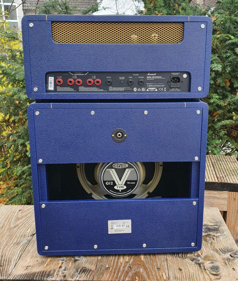 MARSHALL E Gitarrentopteil Studio Vintage Serie Halfstack mit SV 1×12 Box Navy Levant NAMM20 Special Limited Edition 8