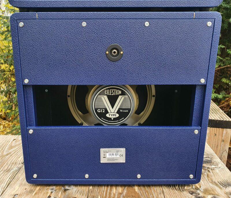 MARSHALL E Gitarrentopteil Studio Vintage Serie Halfstack mit SV 1×12 Box Navy Levant NAMM20 Special Limited Edition 9