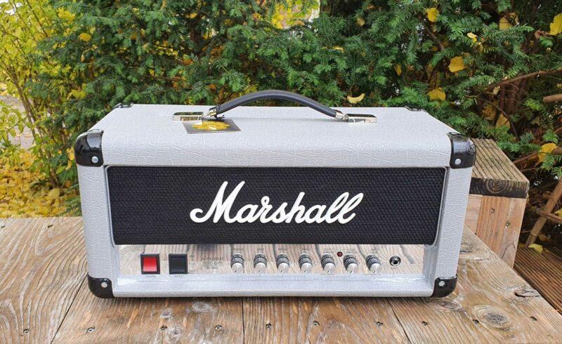 marshall vollröhrentopteil 2525h silver jubilee reissue 1 ohguitar