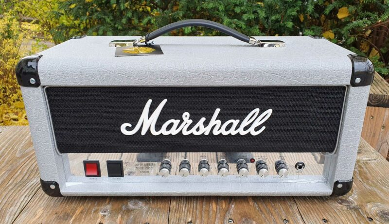 marshall vollröhrentopteil 2525h silver jubilee reissue 2 ohguitar