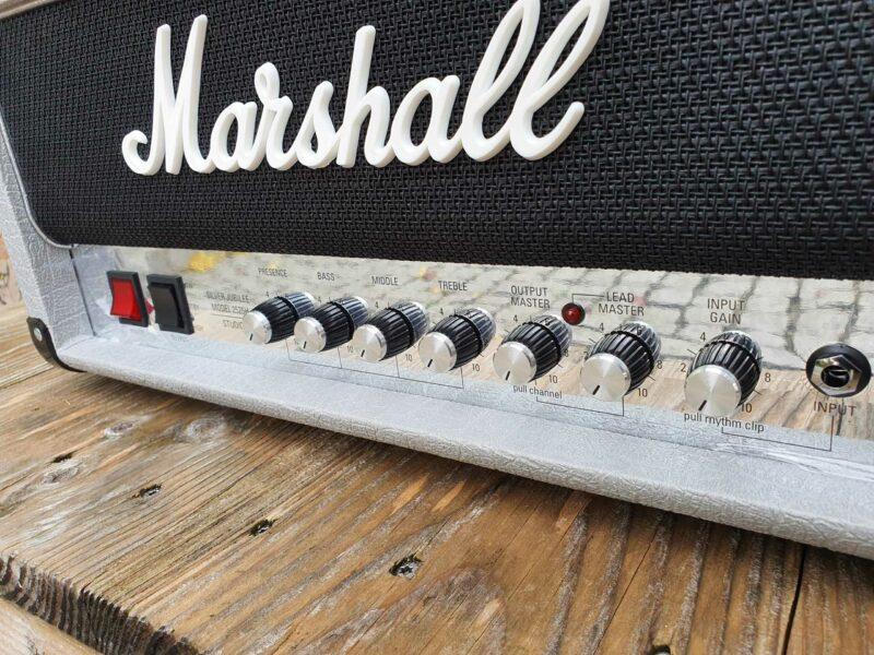marshall vollröhrentopteil 2525h silver jubilee reissue 3 ohguitar
