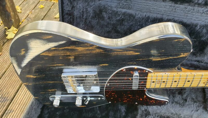 """serpent t style """" dirty gold"""" aged 11 ohguitar"""