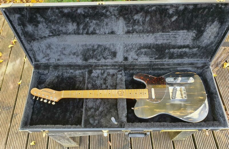 """serpent t style """" dirty gold"""" aged 5 ohguitar"""