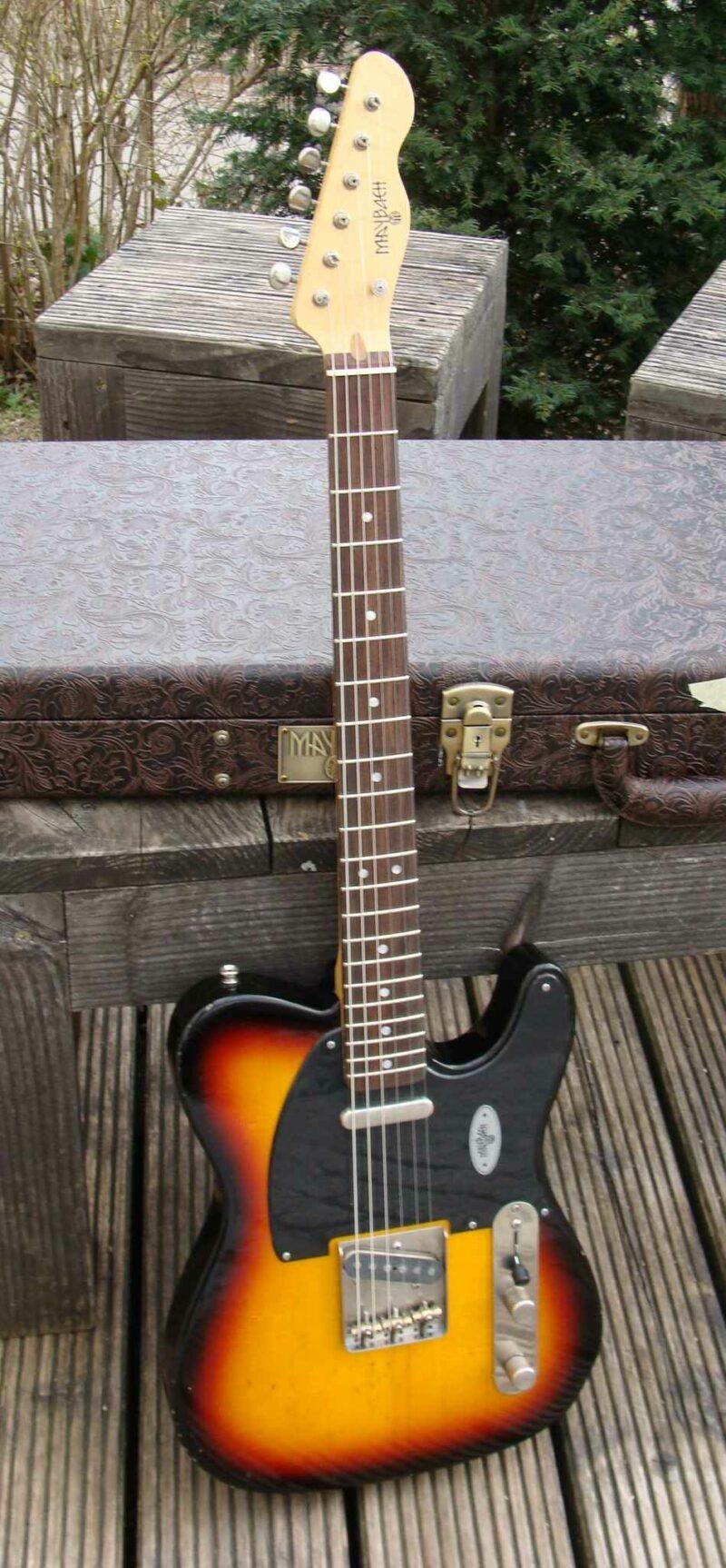 maybach teleman t61 3 tone sb aged 5 ohguitar