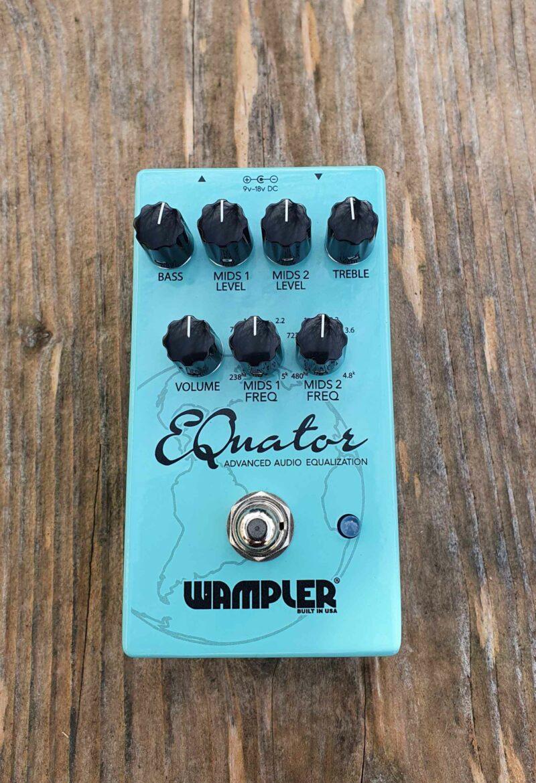 wampler equator equalizer pedal ohguitar