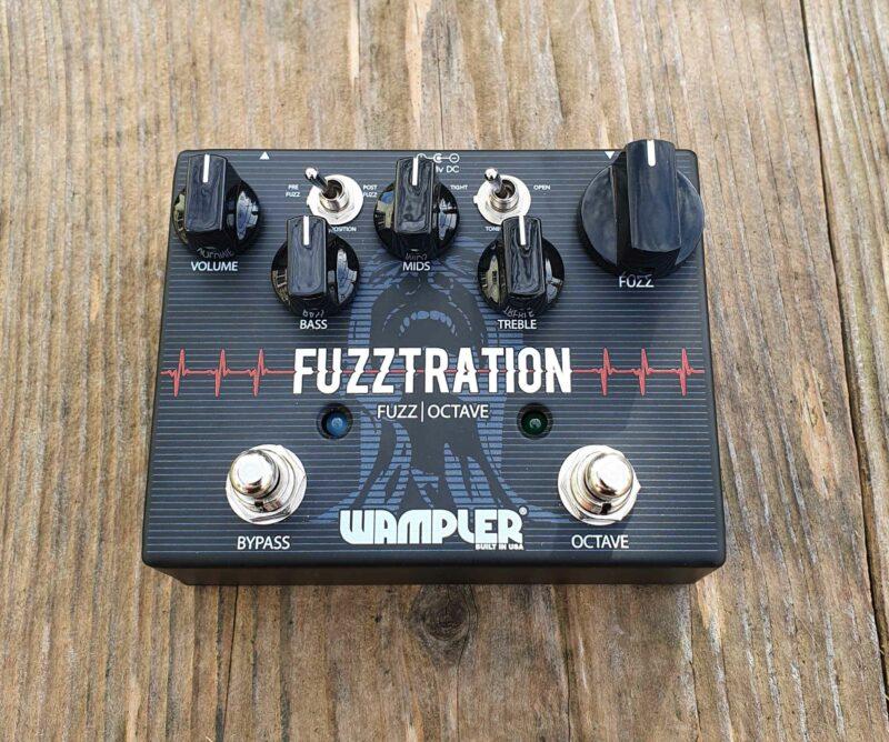 wampler fuzztration fuzz octave pedal ohguitar