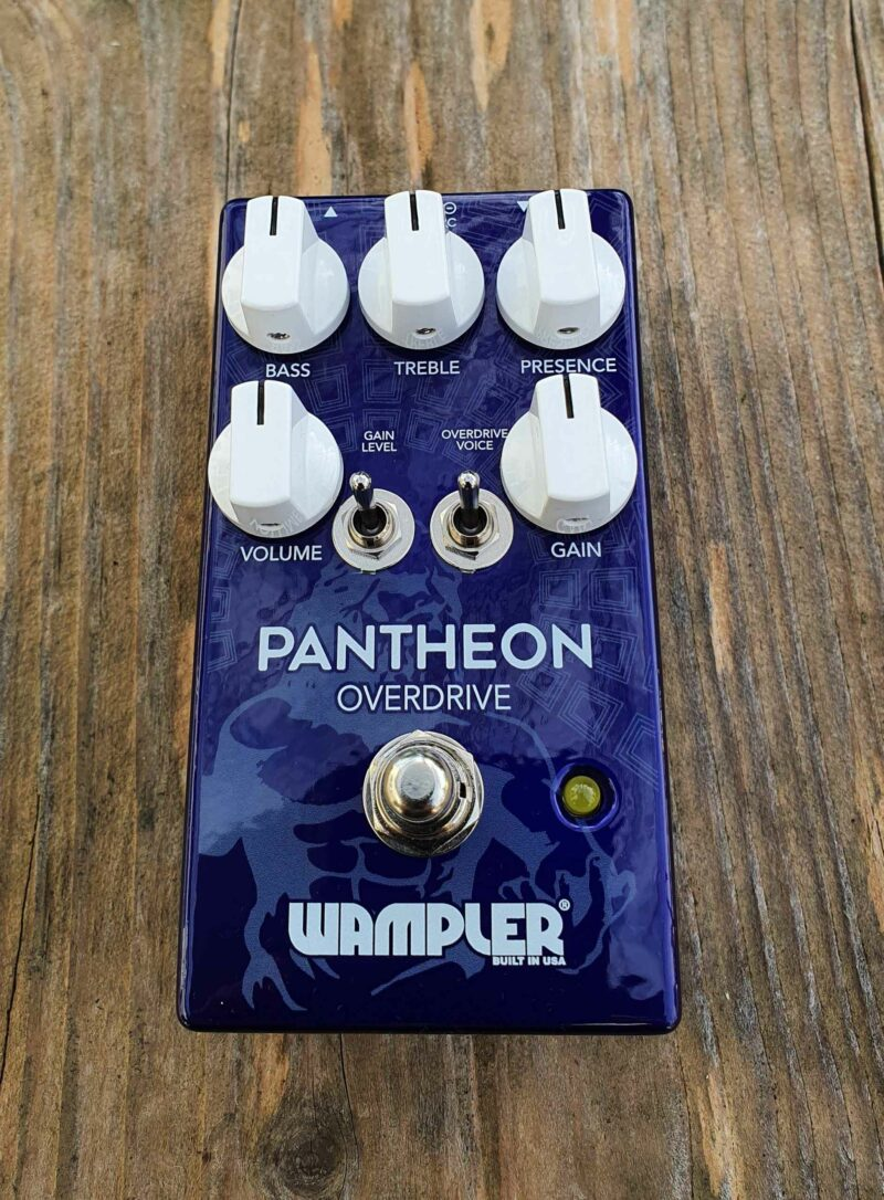 wampler pantheon drive overdrive pedal ohguitar