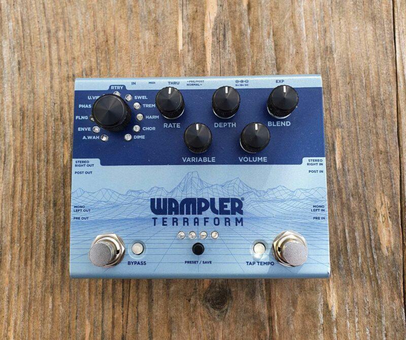 wampler terraform modulations multieffekt ohguitar