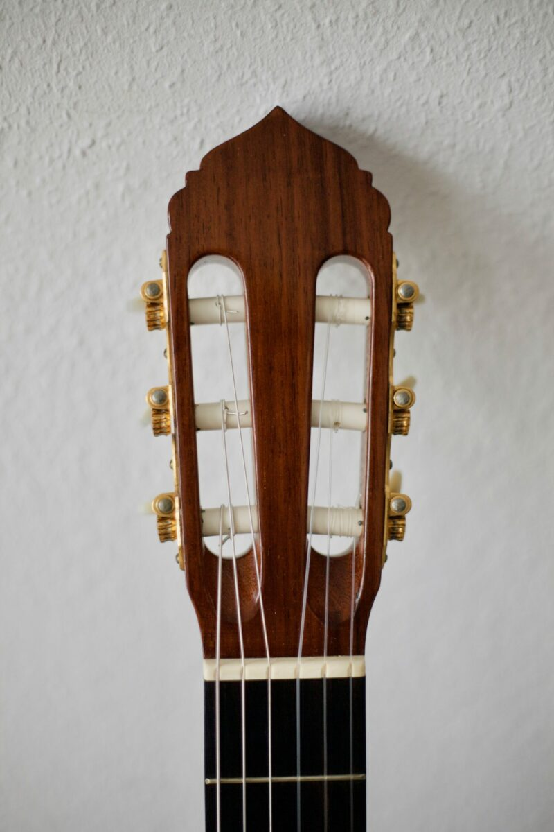 Dieter Hense Meistergitarre 1970 Fichte Palsiander 1a