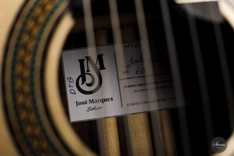 Classical guitar José Marques 2021 22
