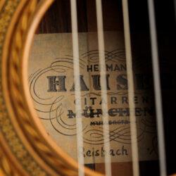 Classical guitar Hermann Hauser II 1969 24