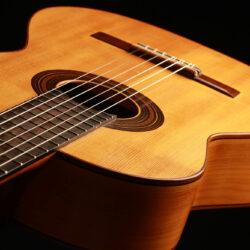 Classical guitar Liam Romanillos 1982 9