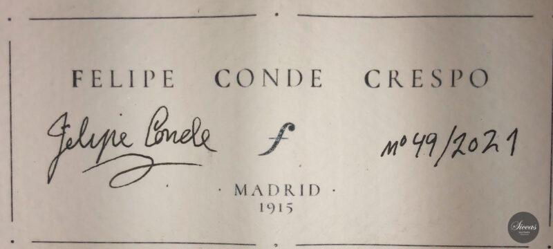 Classical guitar Felipe Conde Crespo 2021 1 scaled