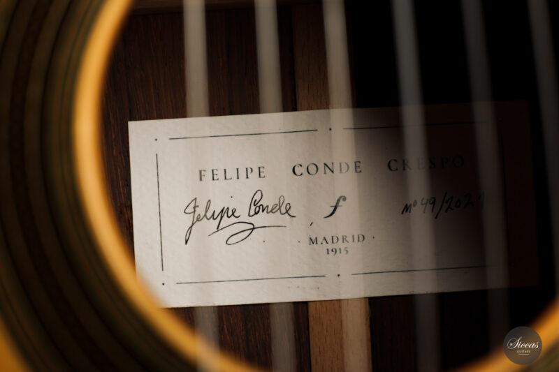 Classical guitar Felipe Conde Crespo 2021 16
