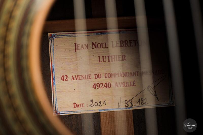 Classical guitar Jean Noel Leberton 2021 13