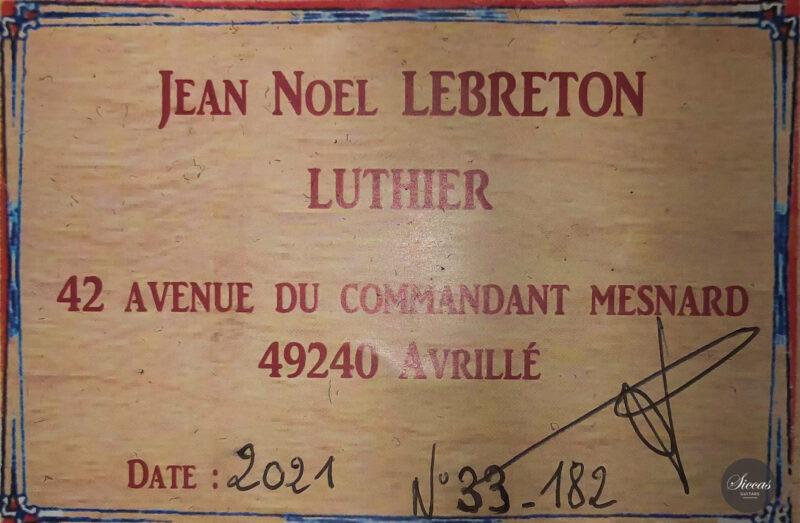 Classical guitar Jean Noel Leberton 2021 21