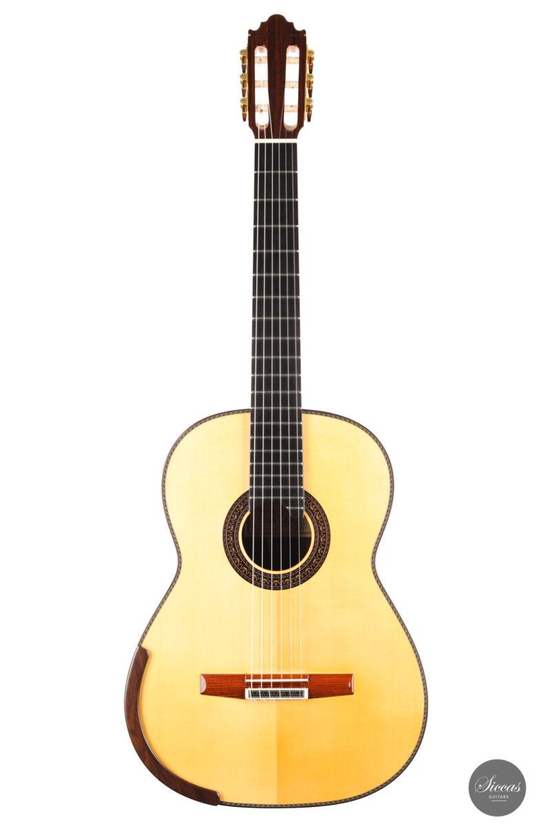 Classical guitar Vicente Carrillo Doubletop 2021 1