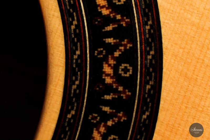 Classical guitar Vicente Carrillo Doubletop 2021 14