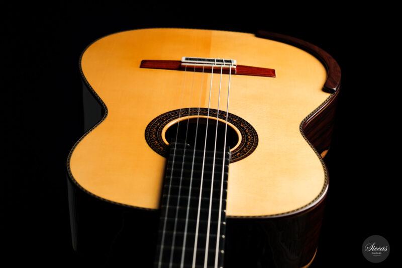 Classical guitar Vicente Carrillo Doubletop 2021 18