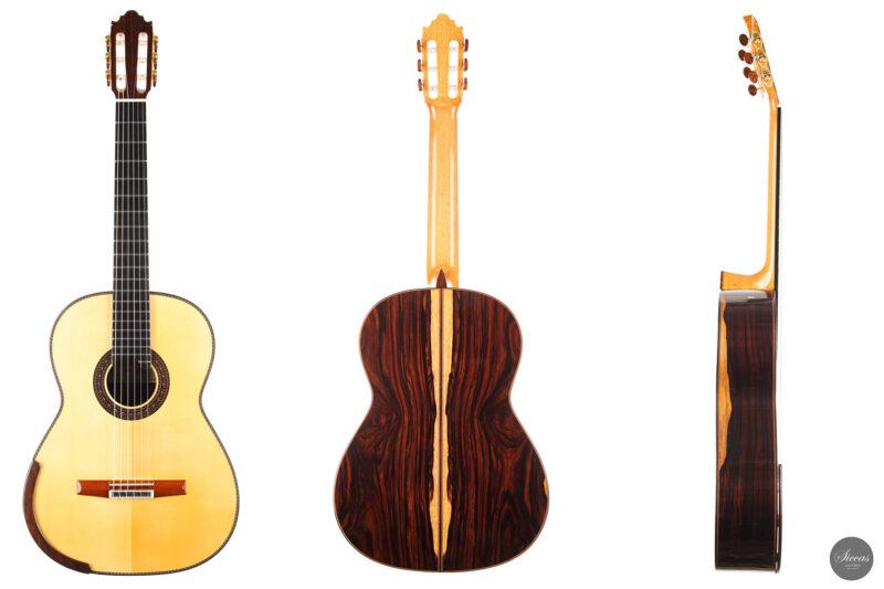 Classical guitar Vicente Carrillo Doubletop 2021 25