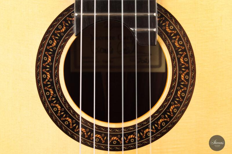 Classical guitar Vicente Carrillo Doubletop 2021 4