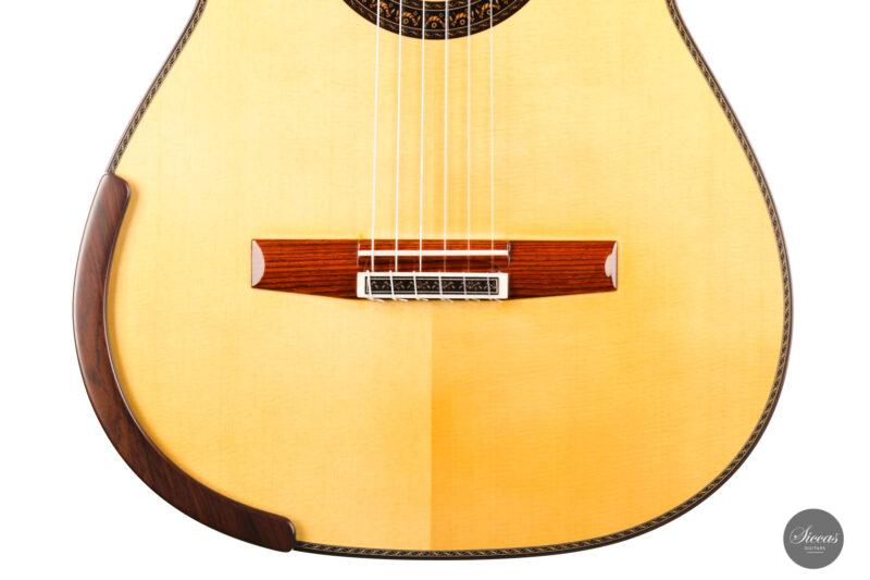 Classical guitar Vicente Carrillo Doubletop 2021 6
