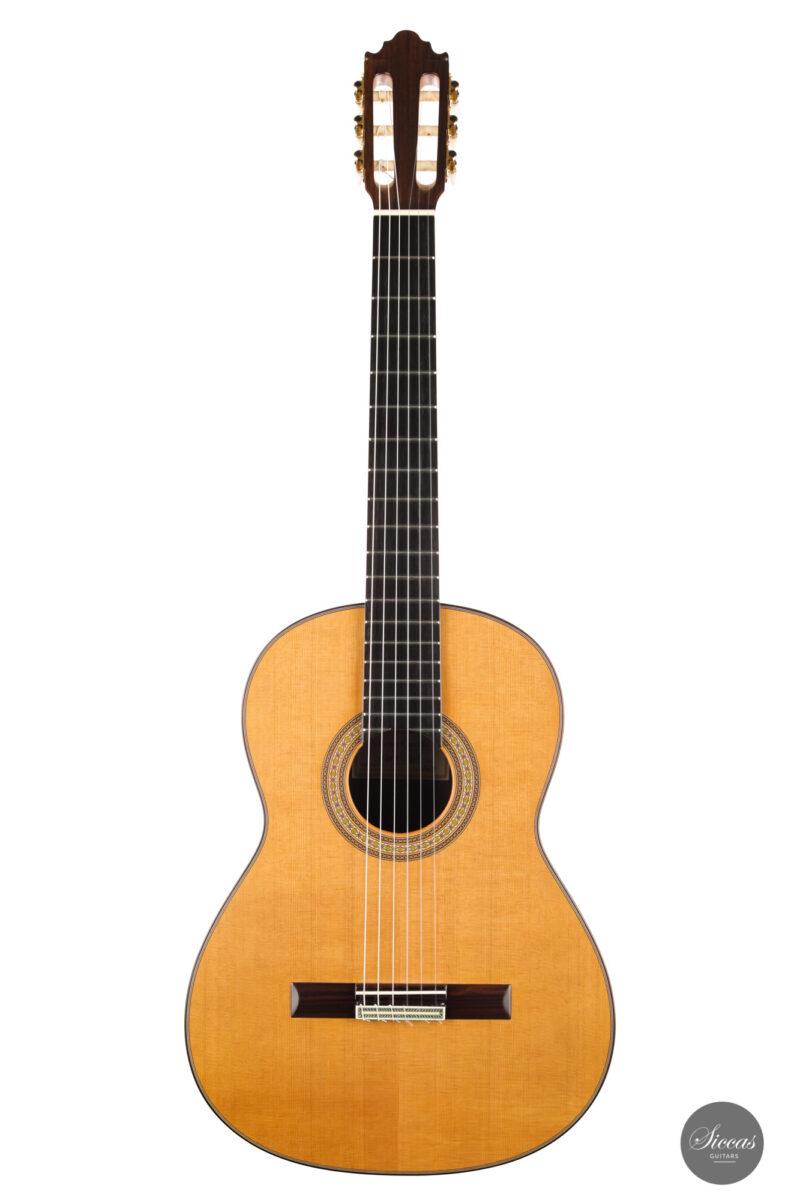 Classical guitar Vicente Carrillo Estudio Cedar 2021 1
