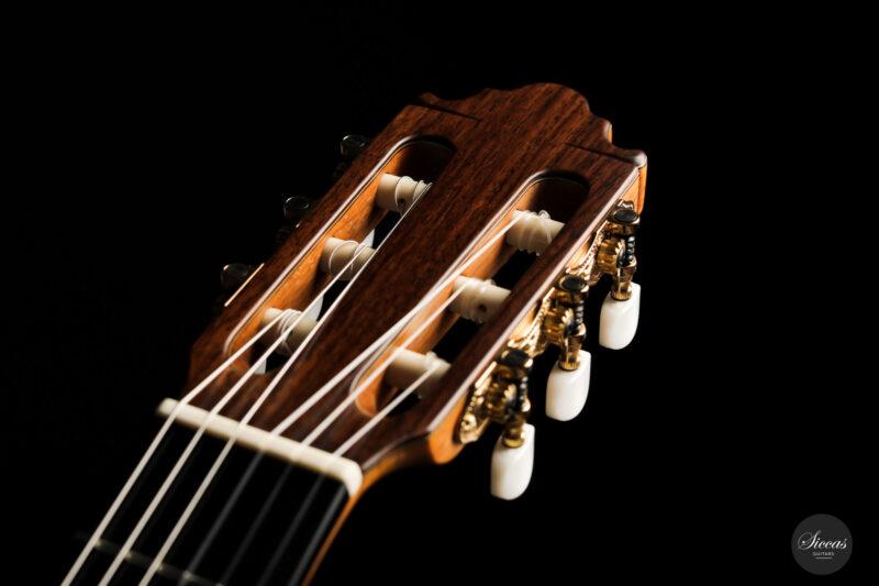 Classical guitar Vicente Carrillo Estudio Cedar 2021 13