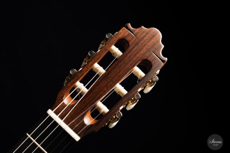 Classical guitar Vicente Carrillo Estudio Cedar 2021 14