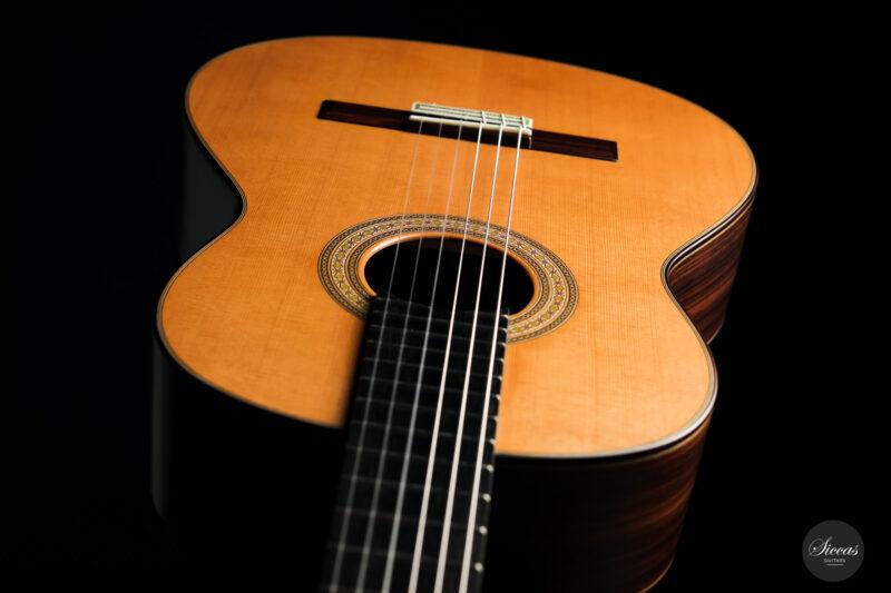 Classical guitar Vicente Carrillo Estudio Cedar 2021 16