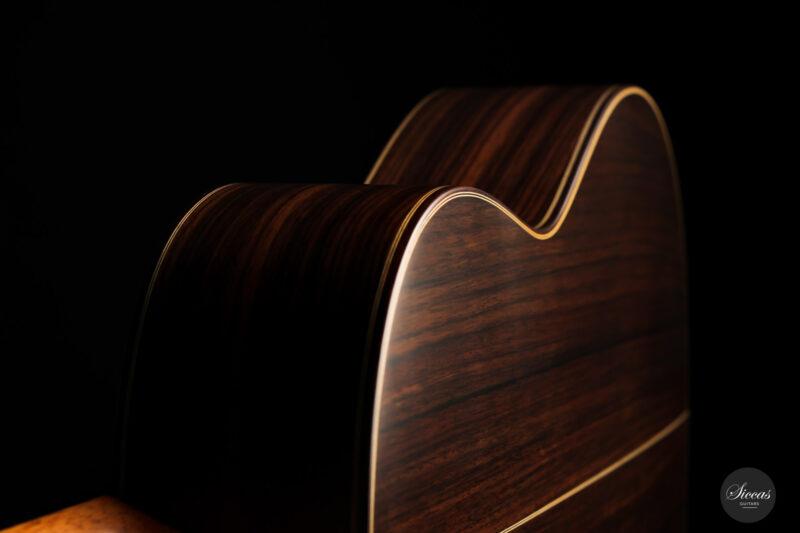 Classical guitar Vicente Carrillo Estudio Cedar 2021 18