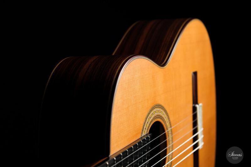Classical guitar Vicente Carrillo Estudio Cedar 2021 19