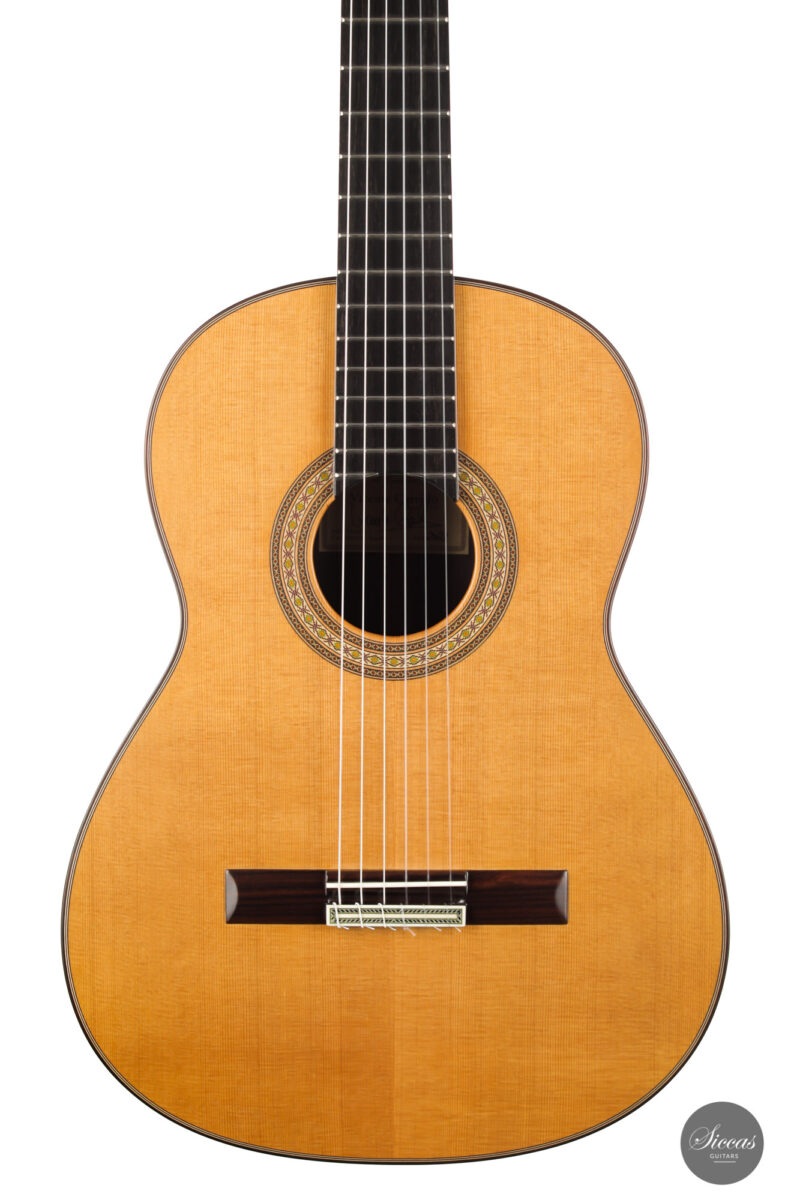 Classical guitar Vicente Carrillo Estudio Cedar 2021 2