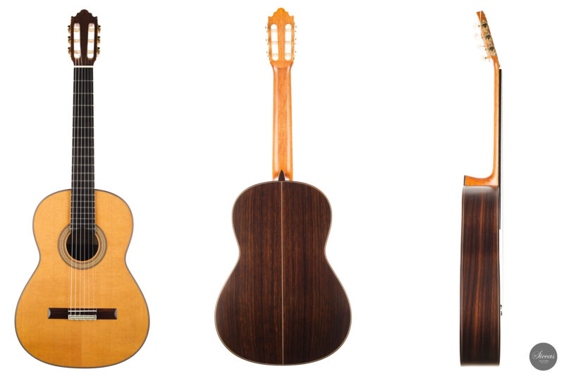 Classical guitar Vicente Carrillo Estudio Cedar 2021 25