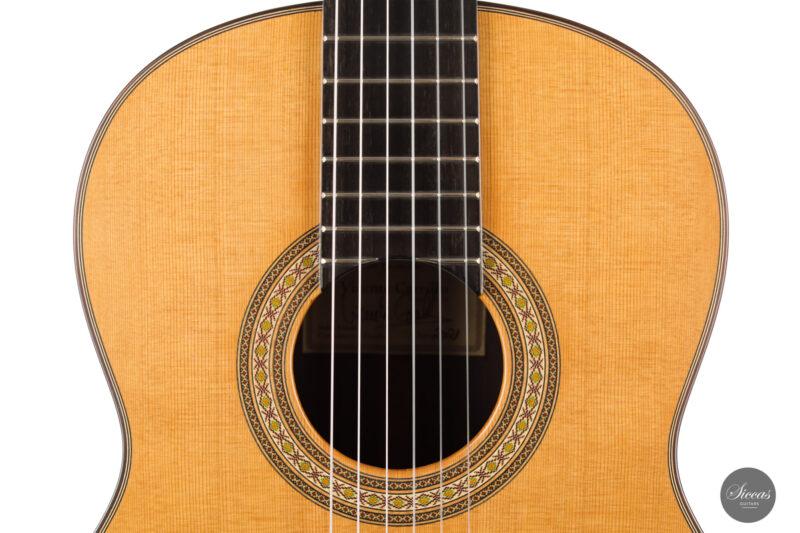 Classical guitar Vicente Carrillo Estudio Cedar 2021 3 1