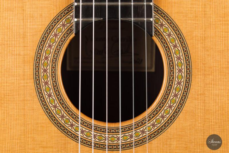 Classical guitar Vicente Carrillo Estudio Cedar 2021 4