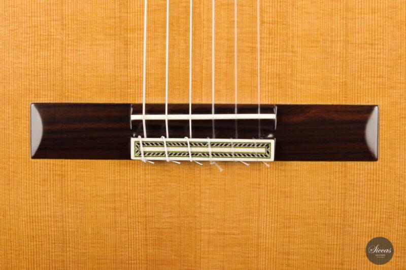 Classical guitar Vicente Carrillo Estudio Cedar 2021 5