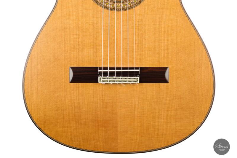 Classical guitar Vicente Carrillo Estudio Cedar 2021 6