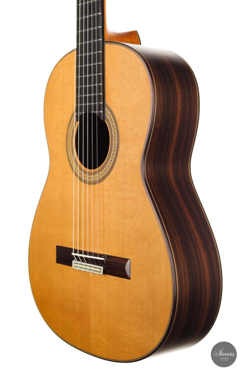 Classical guitar Vicente Carrillo Estudio Cedar 2021 7
